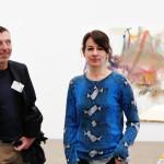 Albert Oehlen und Rebecca Warren
