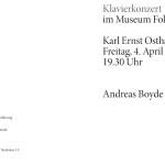 Andreas Boyde Programmheft 1