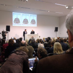 Pressekonferenz Karl Lagerfeld am 14.02.2014 im Museum Folkwang, Essen